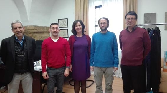 Visita de profesores de la Universidad París-Diderot