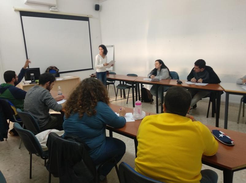 Comienzan las clases de conversación en inglés en el Grado en Historia