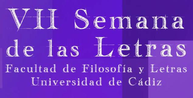 VII Semana de las letras 25-29 Marzo