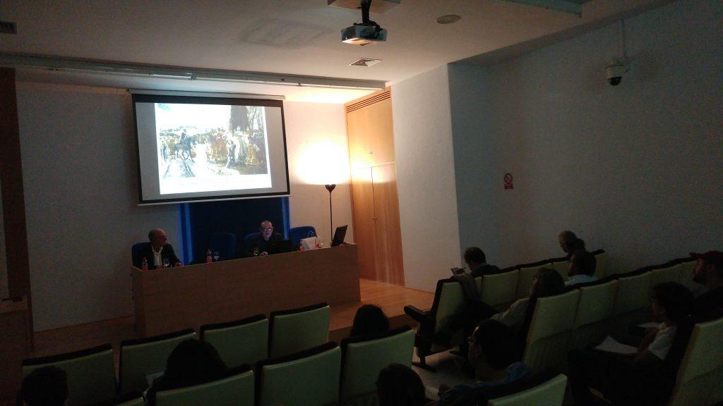 IMG INAUGURACIÓN DE LA V EDICIÓN DEL MÁSTER EN PATRIMONIO, ARQUEOLOGÍA E HISTORIA MARÍTIMA