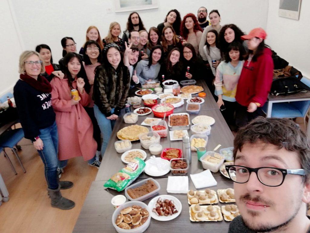 Almuerzo Internacional del Máster en Estudios Hispánicos, 27/01/2020